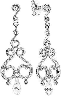 Pandora Silver Earring for Women, 297088CZ
