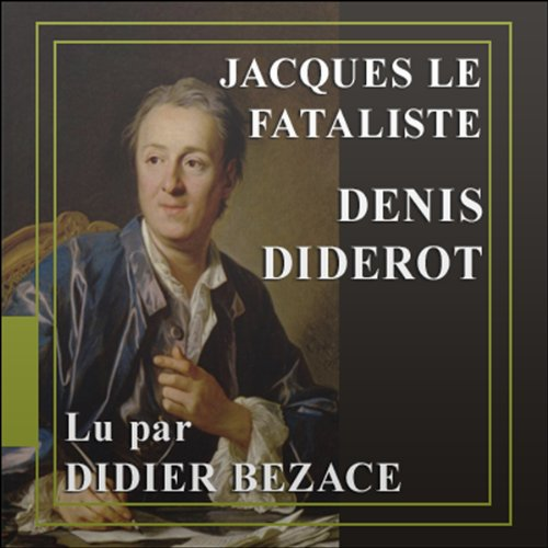 Jacques le Fataliste audiobook cover art