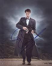 JOHN BARROWMAN as Captain Jack Harkness - Torchwood/Doctor Who GENUINE AUTOGRAPH