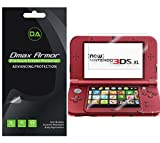 Dmax Armor [3-Pack] for New Nintendo 3DS XL Screen Protector (2015 Version) Anti-Glare & Anti-Fingerprint Screen Protector