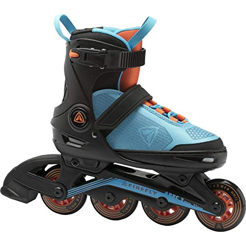 Firefly Unisex-Kinder Ils 510 B Skateboardschuhe, Schwarz (Black/Blue/Orange 900), 33 EU