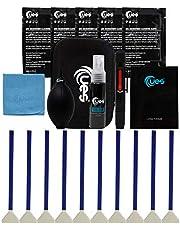UES Kit de Limpieza de Lentes y Sensor de cámara réflex Digital: hisopo de Sensor de fotograma Completo, Limpiador, soplador de Aire, paño de Microfibra, bolígrafo de Lentes, Papel de Lente