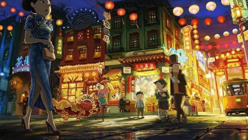 1000 Piezas Puzzle   Profesor Layton   Rompecabezas Para Niños Adultos Juego Creativo Rompecabezas Navidad Decoración Del Hogar Regalo Regalo De Año Nuevo