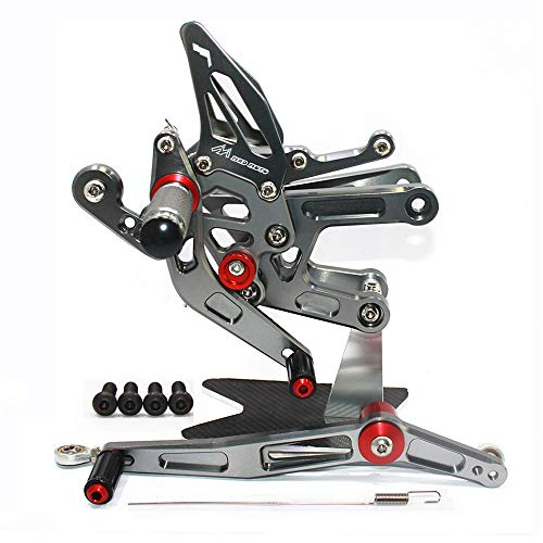 Rearsets Rear Sets Footpegs CNC Adjustable For Yamaha YZF R6 2006 2007 2008 2009 2010 2011 2012 2013 2014 2015 2016