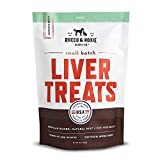 Rocco & Roxie All Natural Beef Liver Treats For Dogs – Healthy Grain-Free Dog Treats Made in USA Only – Crunchy And Delicious Training Treats Your Dogs Will Love - Gluten-Free - No Fillers – Slow Smok
