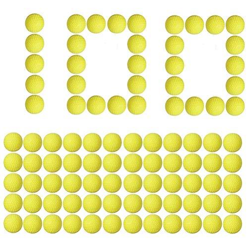 zuoshini Bolas para Nerf Rival Blasters 2.3cm Original Bolas Redondas de Repuesto Rival Munición Recarga Compatibles para Nerf Rival Apollo Niños Juguete 100Pcs