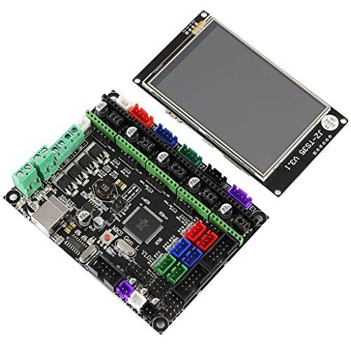 YUQIYU Module board MKS GEN L motherboard+3.5-inch LCD WIFI touch screen kit for 3D printers monitor