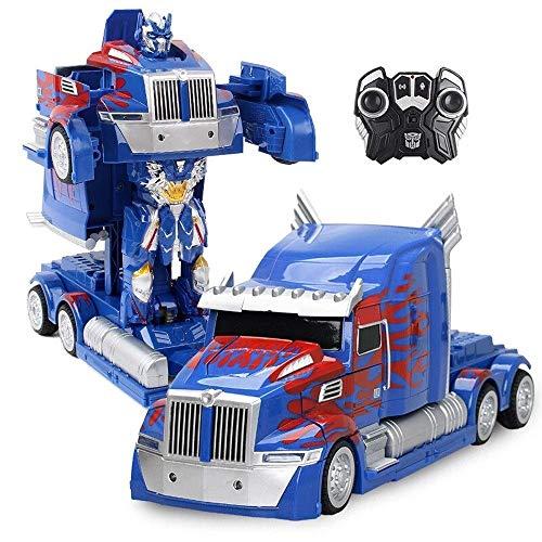 GRTVF Una y catorce minutos rc camiones de Transformación del robot de alta velocidad de control remoto…
