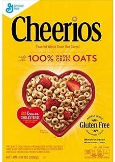 チェリオス トースト全粒オーツ麦シリアル、オルリー空港で 8.9 oz Cheerios Toasted Whole Grain Oat Cereal, 8.9 oz by Orly
