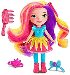 Pop-In Style dolls inspired by the Nickelodeon preschool television series, Sunny Day! Choose from Sunny, Rox and Blair. Each doll is posable and approximately 6-inches (15cm) tall. Dolls feature hairstyling play and the themes of friendship, pets, a...