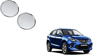 Autoladders Chrome Blind Spot Mirror Set of 2 for Toyota Glanza