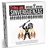 TRIBU DE SINVERGÜENZAS - Juego de Mesa para Fiestas y Risas con amig@s - Juego de Cartas Made In Spain