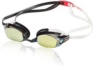 Speedo Vanquisher EV Mirrored Swim Goggles, Panoramic, Anti-Glare, Anti-Fog with UV Protection