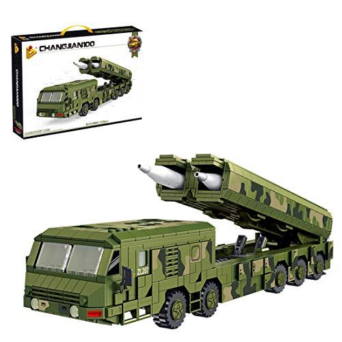 Teakpeak Militär Bausteine, Militär Cruise Missile Fahrzeug Bausatz -Cruise Missile Fahrzeug Modellbausatz,...