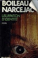 Usurpation d'identité 2010075803 Book Cover