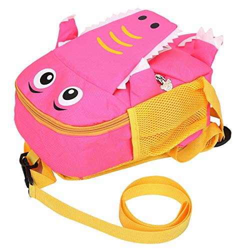 logozoee Preschool Backpack, Toddler Backpack, Soft And Dirt‑Resistant Cute 3D Shape for Kid Children(Pink)