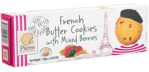 ピエールビスキュイットリー バタークッキー ミックスベリー 150g×10個