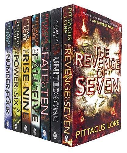 Pittacus Lore Complete 7 Book Collection Box-Set