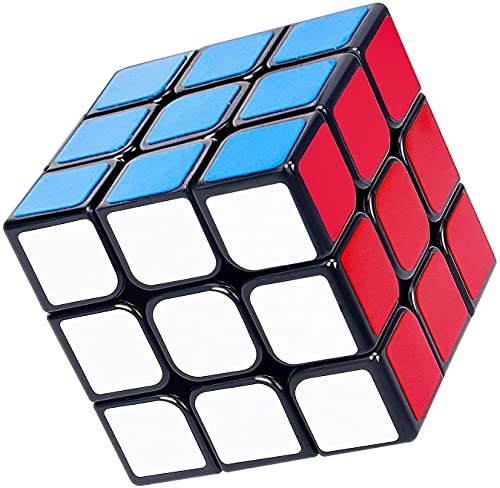 MerryNine Professional Speed Cube 3x3x3, Durable Smooth Puzzle Toys Portable for Adults (Standard)