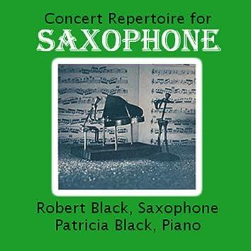 Concert Repertoire for Saxophone