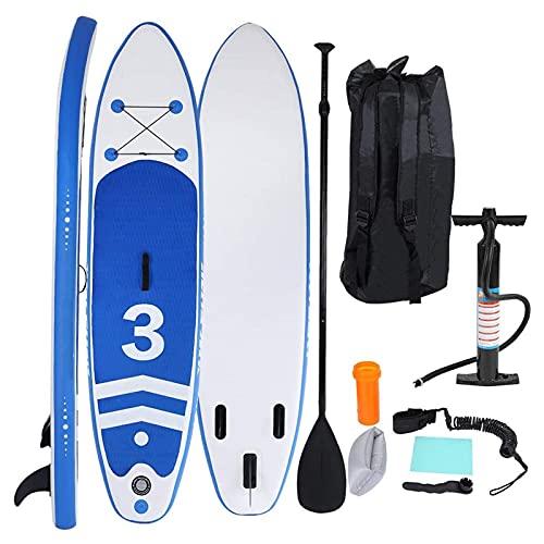 YILUFU Tabla Padel Surf Hinchable, Kayak Hinchable con Remo Ajustable Almohadilla Antideslizante y Accesorios Completos Carga Máx. 120 kg