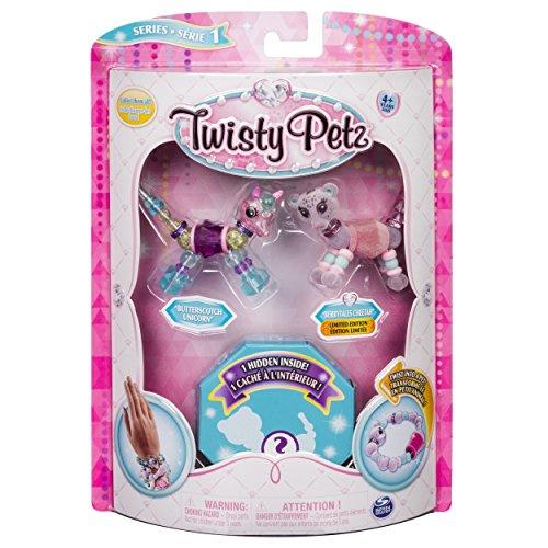 Twisty Petz 6044203 - Verwandlungsarmbänder für Kinder 3er Set - sortiert