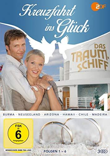 Kreuzfahrt ins Glück - Box 1 - Folge 1-6 (3 DVDs)