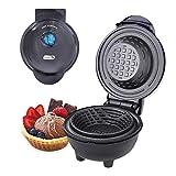 DASH DMWBM100GBBK04 Mini Waffle Bowl, Black