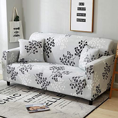 Moshone - Funda para sofá con estampado de sofá y funda elástica (color: 125899, especificación: AA 140 185 cm)