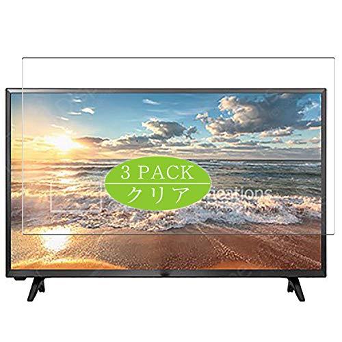 VacFun 3 Piezas HD Claro Protector de Pantalla para 31.5' LG 32LJ500U /32LJ500V /32LJ500V /32LH5000 /32LH500D TV, Screen...