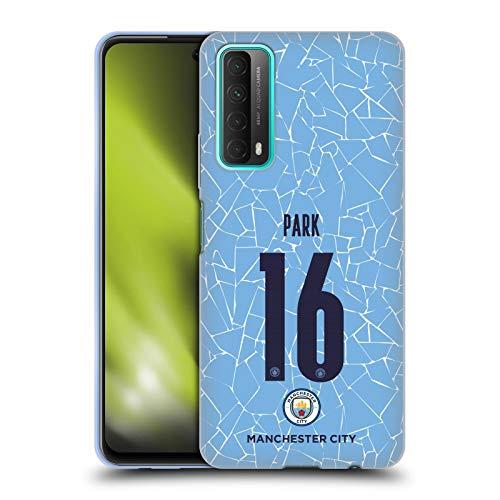 Head Case Designs sous Licence Officielle Manchester City Man City FC Jess Park 2020/21 Home Kit des Femmes Groupe 2 Coque en Gel Doux Compatible avec Huawei P Smart (2021)