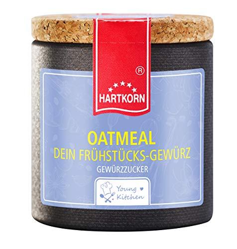 Oatmeal Gewürz - 70 g in der Young Kitchen Pappwickeldose mit Korkdeckel von Hartkorn - wiederverschließbar und wiederbefüllbar