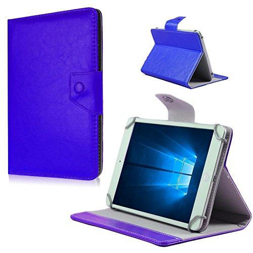 Tablet Tasche Hülle Blaupunkt Discovery 102C 108C 111C Universal Schutzhülle Bag, Farben:Blau