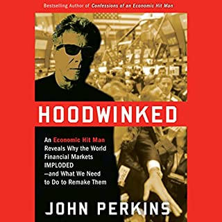 Hoodwinked audiobook cover art