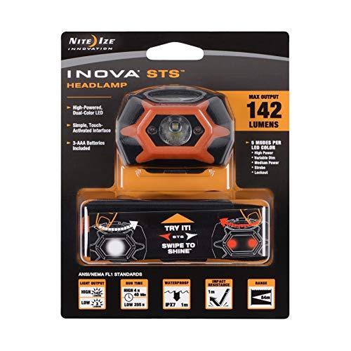 Inova LED STS Kopflampe 142 Lumen, Orange I-HLSA-19-R7-I