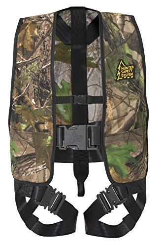 Hunter Safety System HSS Lil' Treestalker Youth Tree-Stand Safety Harness, Realtree