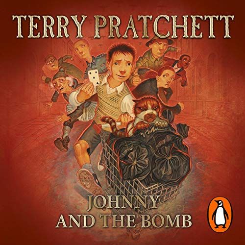Johnny and the Bomb audiobook cover art