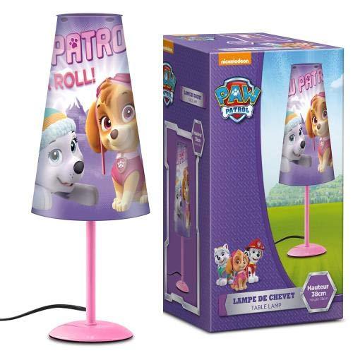 Paw Patrol Nachttischlampe (konisch) Licht Leuchte Lampe (lila)