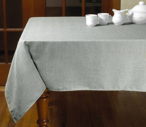 mantel antimanchas gris fabricante Violet Linen