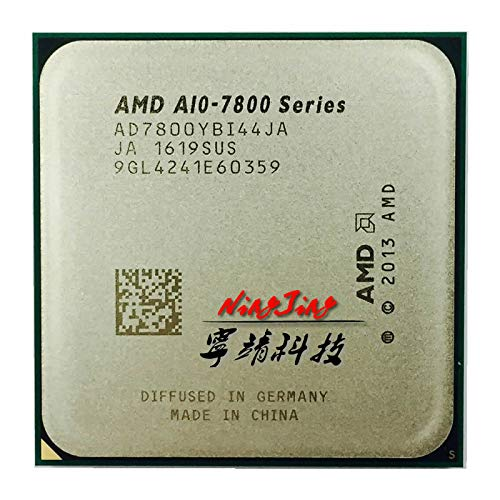 A10-Series A10-7800 A10 7800 3.5GHz Quad-Core CPU Processor AD7800YBI44JA / AD780BYBI44JA Socket FM2+