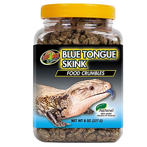 Zoo Med Food Crumbles for Blue Tongue Skink 8 oz (690949)