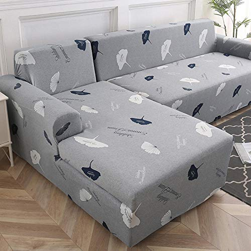 Funda Sofa Resistentes Protector 2 plazas y 4 plazas, Funda de sofá Funda de sofá Funda de sofá elástica para Sala de Estar, Esquina de Mascotas Funda de sofá Chaise Longue en Forma de L