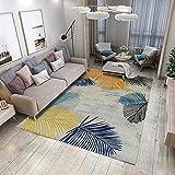 Qlldwxu Nordic 3D Modern Minimalist Carpet Ink S Rectangular Estera del Piso Alfombra Pad Alfombra 200X300Cm