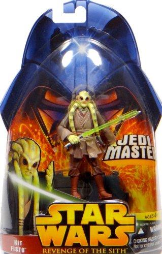 Kit Fisto Jedi Master No.22 - Star Wars Revenge of the Sith Collection 2005 von Hasbro