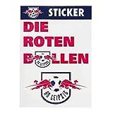 RB Leipzig Mix Sticker Set, Weiß Unisex One Size Aufkleber, RasenBallsport Leipzig Sponsored by Red Bull Original Bekleidung & Merchandise