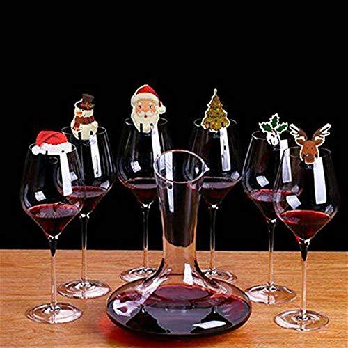 Navidad muñecos de Dibujos Animados Creativa, Hotel, restauran Ventana Linda decoración Colgante de Regalo...