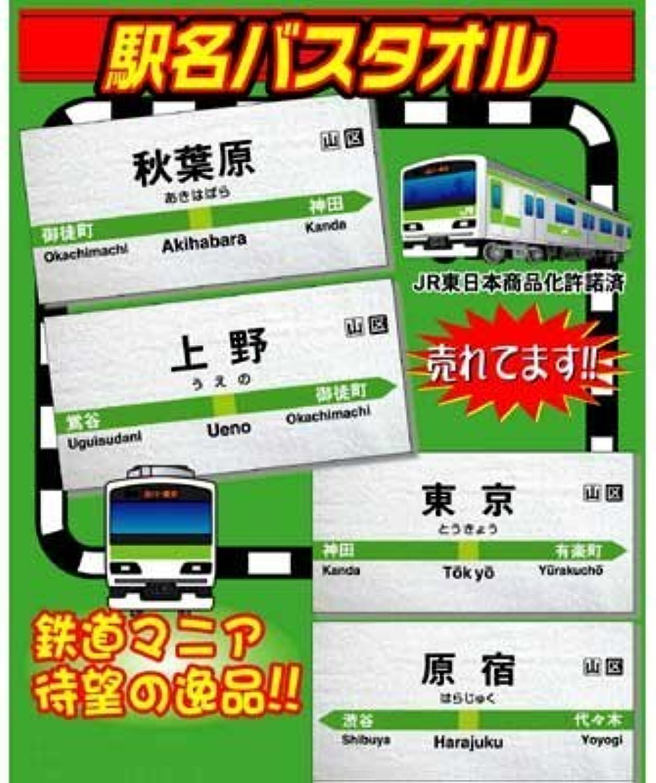 Akihabara station name bath towel (Marvelous) (japan import)
