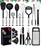 Home Hero Kitchen Utensil Set - 23 Nylon Cooking Utensils -...