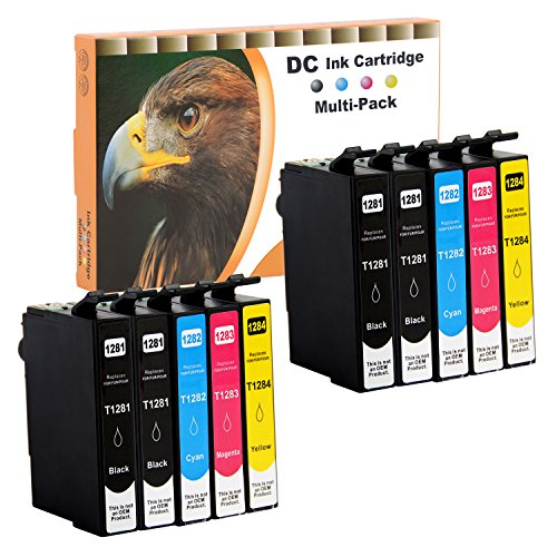 D&C 10er Set Cartuchos de Tinta Cartuchos de impresora (No Original) para Epson Stylus Office BX305 F BX305FD BX305FW S22 SX125 SX130 SX230 SX235 W SX420 W SX425 W SX430 W SX435 W SX438 W SX440 W