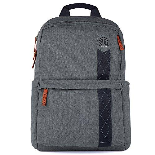 STM Banks Backpack for Laptop & Tablet Up to 15' - Tornado Grey (stm-111-148P-20)